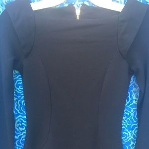 French connection black body con dress